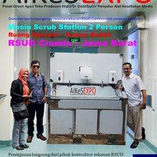Scrub Station 2 Person Automatic Manual - RSUD Ciamis Jawa Barat 8 Unit Desember 2017