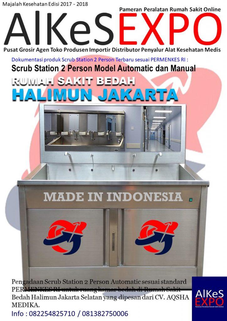 Scrub Station 2 Person Automatic - Call Us 082254825710 - Rumah Sakit Bedah Halimun Jakarta Selatan