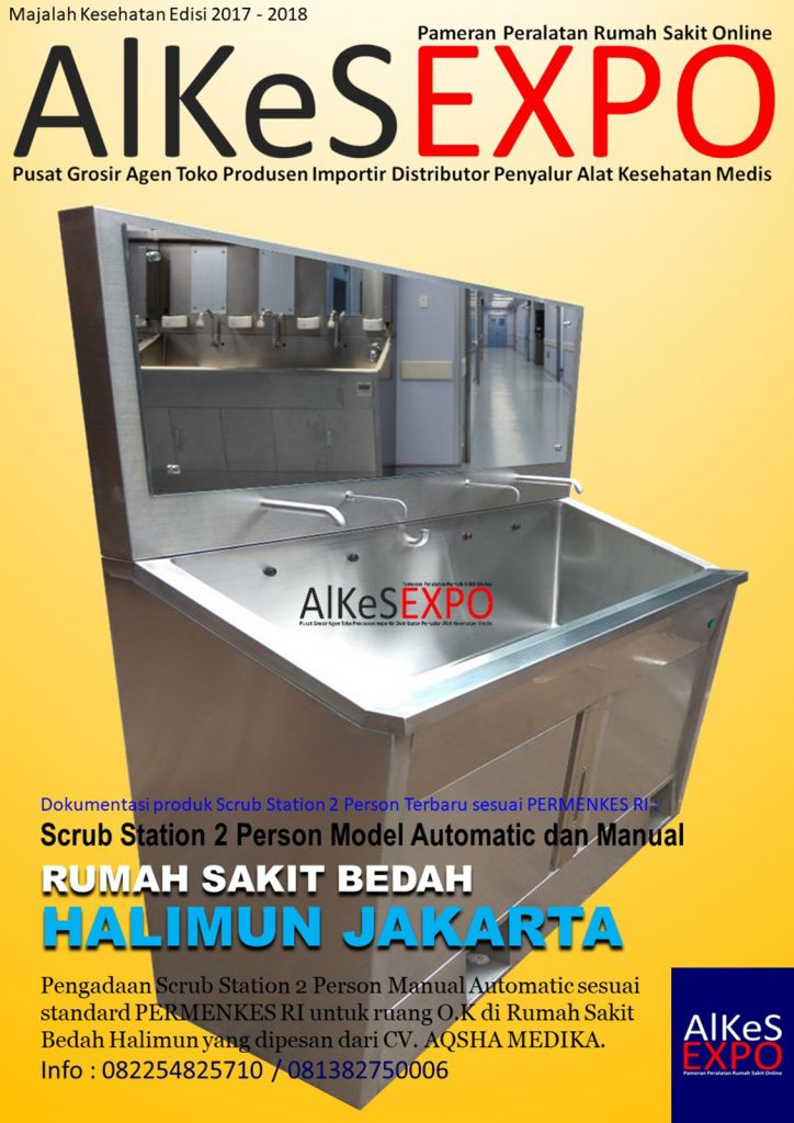Scrub Station 2 Person Automatic Manual AMG-202-PAM