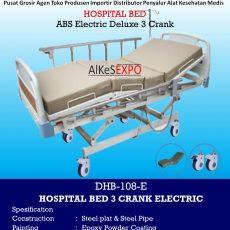 Hospital Bed Electric 3 Crank DHB-108-E