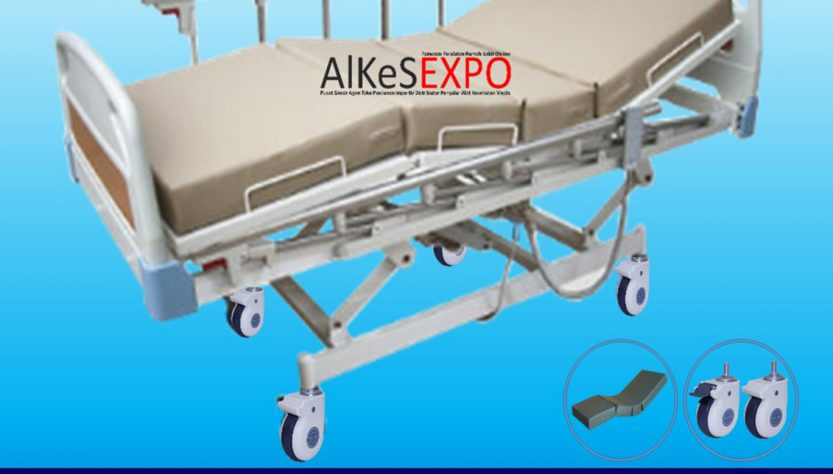 Hospital Bed Electric 3 Crank DHB-108-E