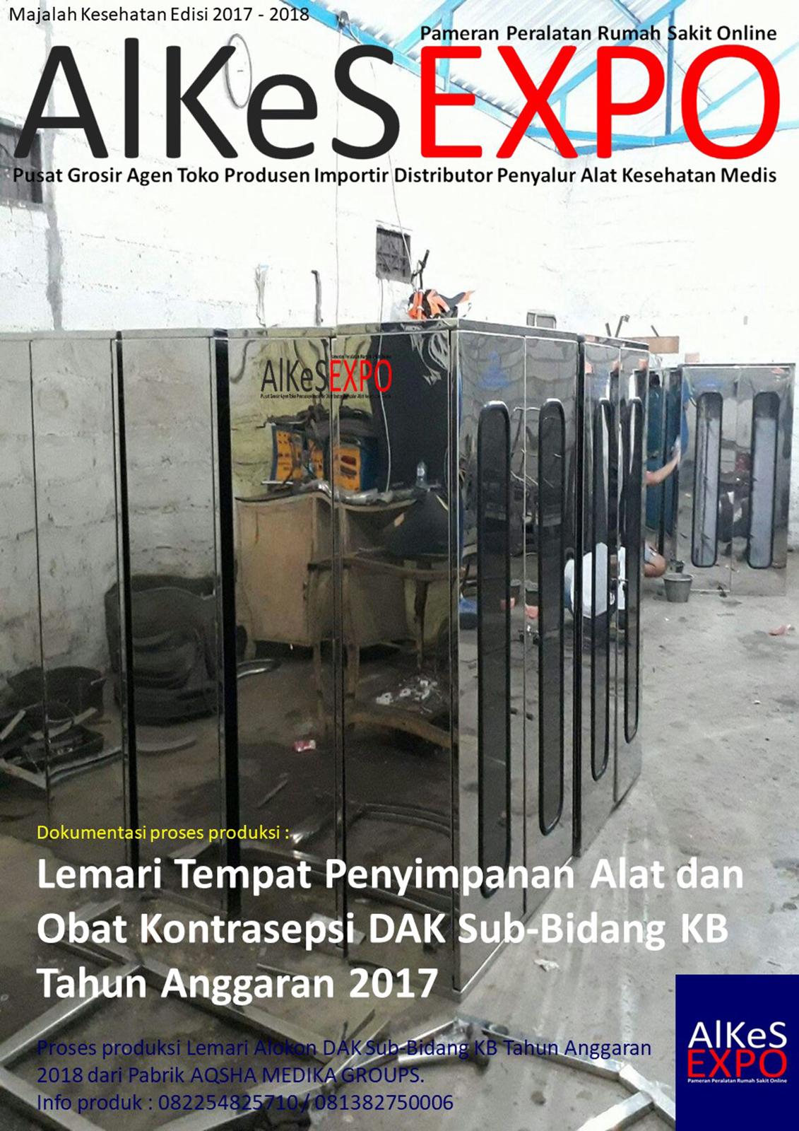 Proses Produksi Pesanan Lemari Alokon DAK BKKBN 2018