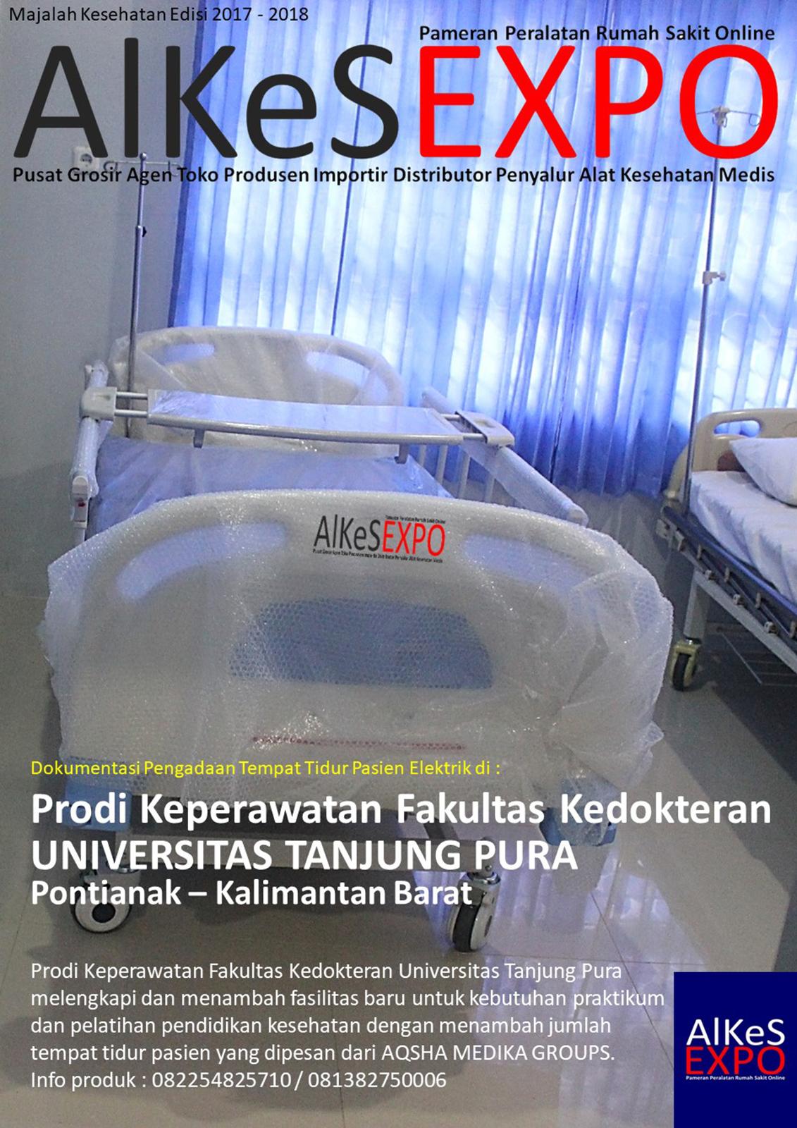 Pembelian Ranjang Rumah Sakit Elektrik Prodi Keperawatan Fakultas Kedokteran Universitas Tanjung Pura Pontianak 2017