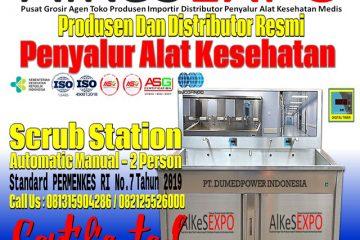 Jual-Scrub-Station-2-Person-Harga-Murah-ALKES-EXPO-2021