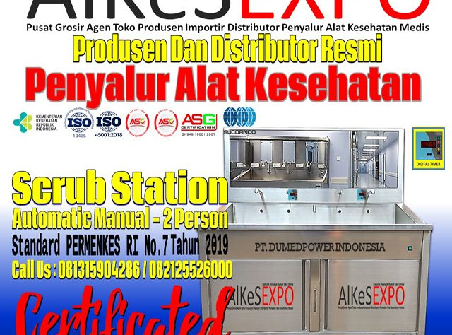 Jual-Scrub-Station-2-Person-Harga-Murah-ALKES-EXPO-2021
